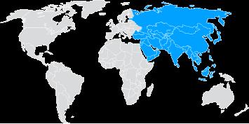 Envíos de paquetería internacional a Asia